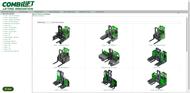 3D spare parts catalog software